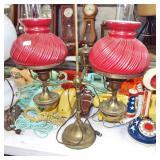 retro student lamp
