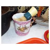 victiorian shaving mug