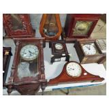 mantle and wall clocks