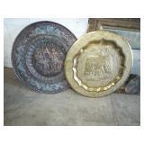 metal wall plaques