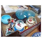 assorted glass china