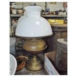 OIL LAMP WITH SHADE