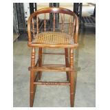 EARLY CAIN SEAT HIGH YOUTH CHAIR