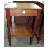 EARLY TURNED LEG OPEN WASHSTAND
