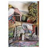 Abner Zook 1970 John Hess Flour Mill 3D Painting