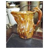 ROOKWOOD HOUND HANDLE PITCHER