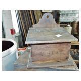 LIDDED SALT BOX