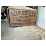 ANTIQUE PRUNE BOX