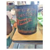 EARLY PLANTERS PEANUT TIN CAN