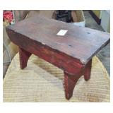 SMALL COUNTRY FOOT STOOL
