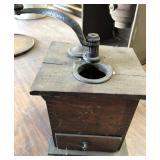 EARLY WOOD COFFEE GRINDER