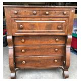 EMPIRE STYLE 3 OVER 3 DRAWER CHEST