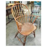WINDSOR STYLE BOW BACK CHAIR