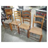 ASSORTED LADDER BACK CHAIR