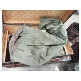 OLD MILITARY CLOTHING