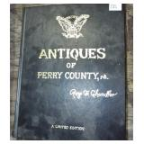 PERRY COUNTY PA. ANTIQUE BOOK