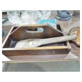 UTENSIL TRAY AND BUTTER PADDLE