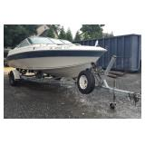 1994 Regal Ski/Pleasure Boat with Johnson 150 HP Motor & Sea Lion Trailer