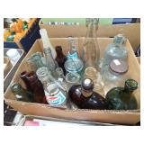 ANTIQUE BOTTLES AND JARS