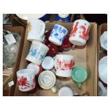 ASSORTED CUPS AND MUGS
