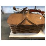 SPLIT OAK PICNIC BASKET