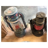 ASSORT OIL LANTERNS