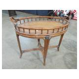 MODERN OVAL BAMBO TABLE