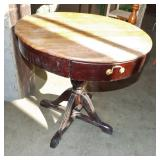 RETRO DRUM TABLE
