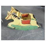 CHILD RETRO RIDING HORSE