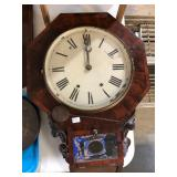 EARLY SCHOOL HOUSE CLOCK