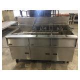 Dean 3pc fryer unit