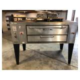 Attias single deck pizza oven