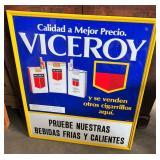 VICEROY CIGARETTE SIGN