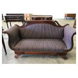 ROSE CARVED LOVE SEAT