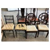 BUTTON AND TUFTED CHAIRS