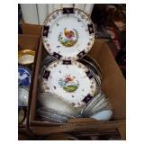 ASSORTED ANTIQUE DISHES