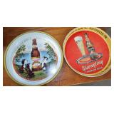 ANTIQUE BEER TRAYS