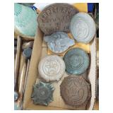 ASSORTED METAL PLAQUES