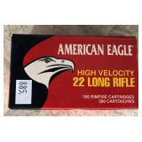 American Eagle 22 Long Rifle ammunition