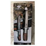 Mossy Oak 2-pc Fixed Blade with sheath