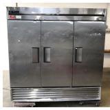 True 3-door freezer