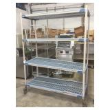 4-Tier Poly Rack