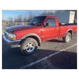 2000 Ford Ranger, 4X4, V6 4.0 L