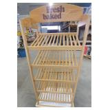 Baked Goods Wood Shelf
