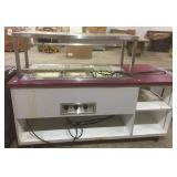 Self-Serve Steam Table with Additional Counter Space