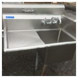 Stainless Steel Single Bay Sink with faucet