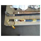 SWORD AND SWORD CANE