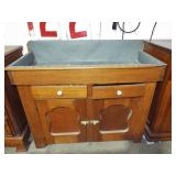 ZINK LINED EARLY DRY SINK