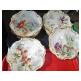 MILI ASSORTED STILL LIFE DECORATED PLATES