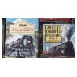 ASSORTED RAILROAD BOOKS